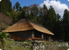C1.Chiiori, a 300-year old Iya farmhouse