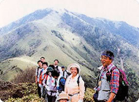 A3.Trekking Mt. Tsurugi and Mt. Miune